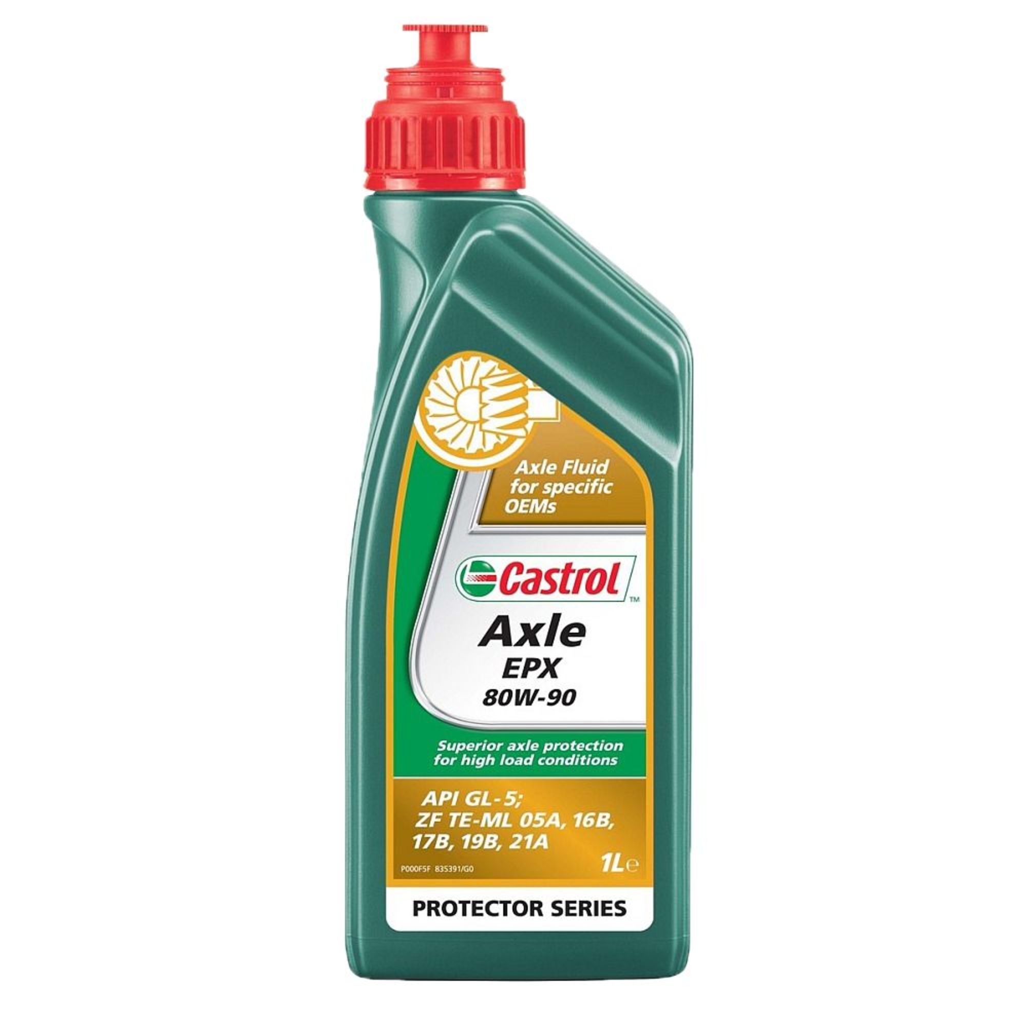 castrol axle epx 80w90 gl5 1l | 25216
