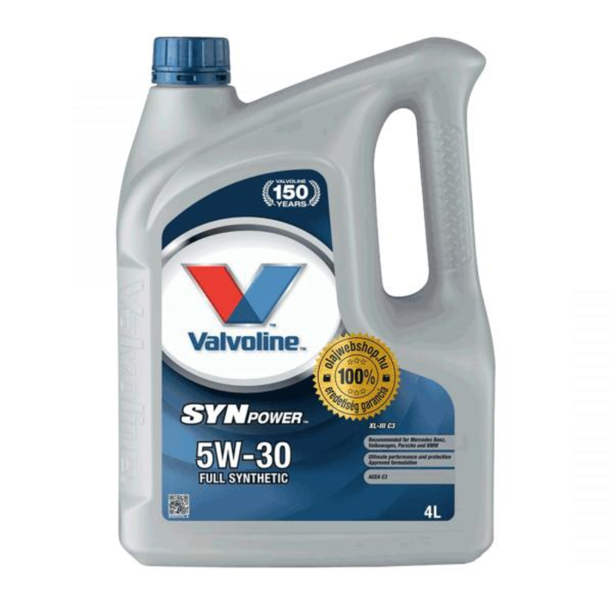 valvoline synpower full synthetic xl-iii c3 sae 5w30 4l